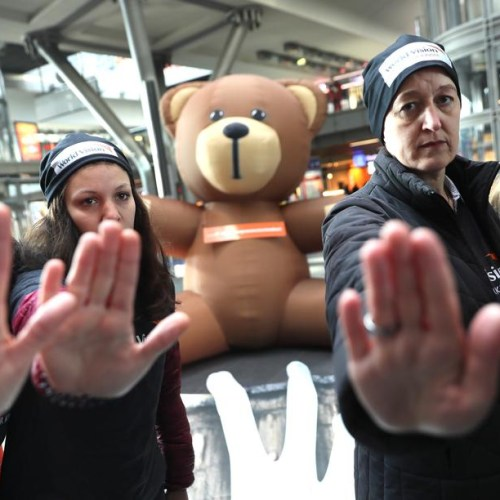 Photo Story: Action against sexual violence on children in Berlin