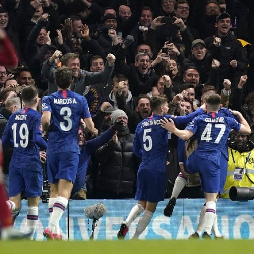 Chelsea eliminates Liverpool from FA Cup