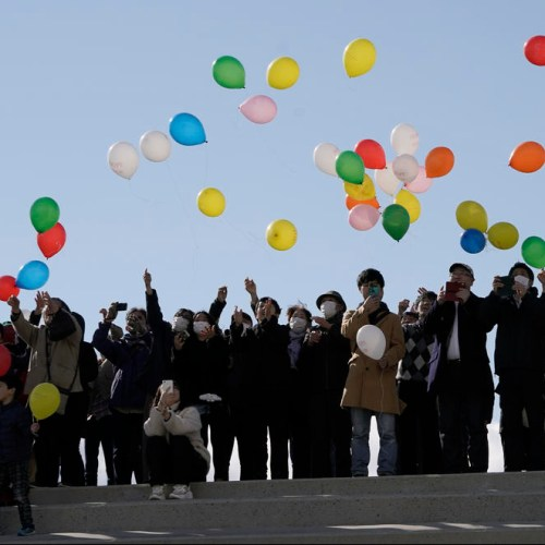 Japan marks ninth anniversary of earthquake and tsunami without ceremony