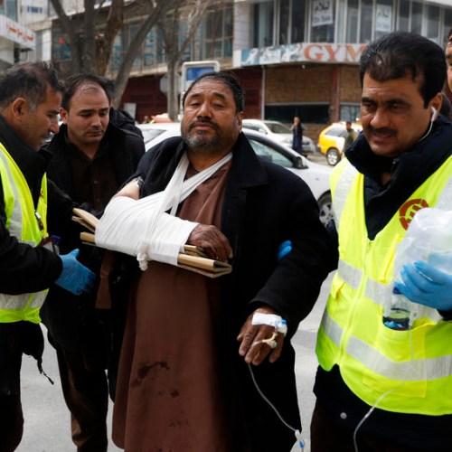 Photo Story: Kabul attack kills 27 persons