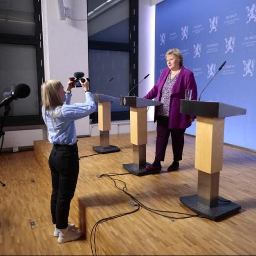 Norway PM tells children: 'It is OK to feel scared' during coronavirus