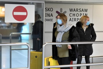 Poland's daily COVID-19 cases up by 70% past in week
