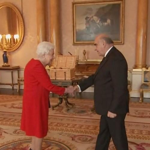 Queen Elizabeth hosts Maltese President George Vella