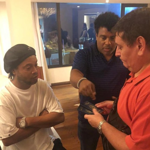 Photo Story: Ronaldinho held in Paraguay over alleged possession of altered passports