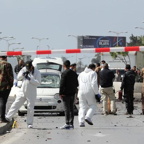 Terrorist attack near U.S. Embassy in Tunis