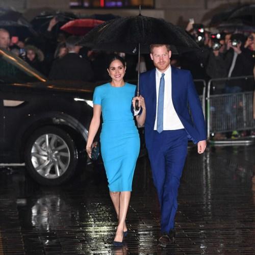 UK royals set for last big get together before Harry and Meghan's exit