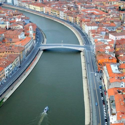 EPA's Eye in the Sky: Pisa, Italy