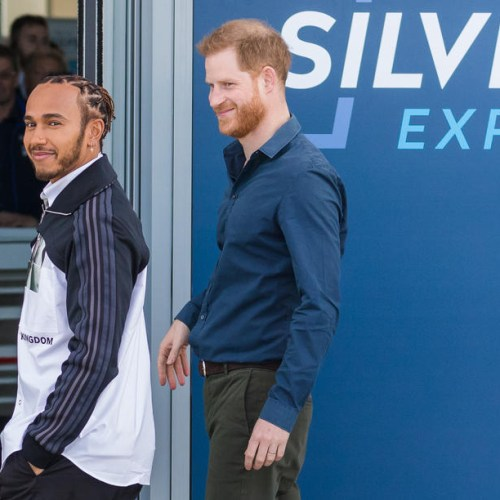 Photo Story: Prince Harry opens The Silverstone Experience