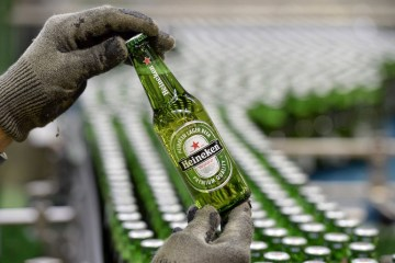 Heineken exceeds expectations with flat beer sales