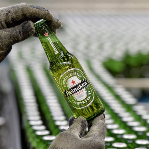 Heineken beer sales take a steep plunge