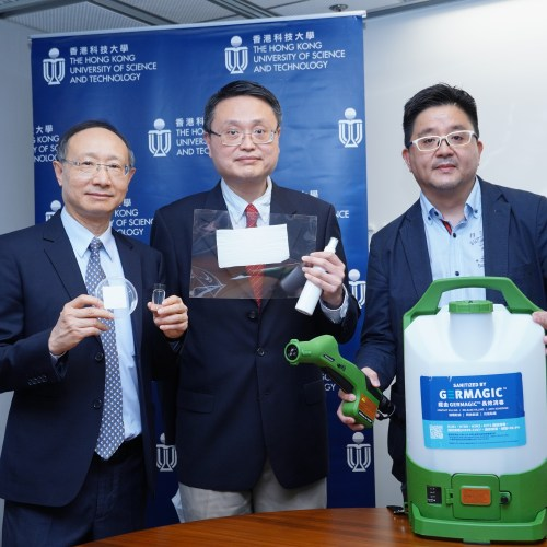 HK scientists say new antiviral coating can protect surfaces for 90 days
