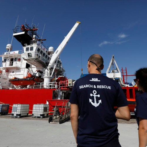 MSF and SOS Mediterranee split up amid disagreement over the rescue of migrants