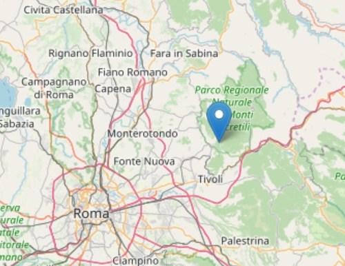 Magnitude 3 earthquake rattles Rome