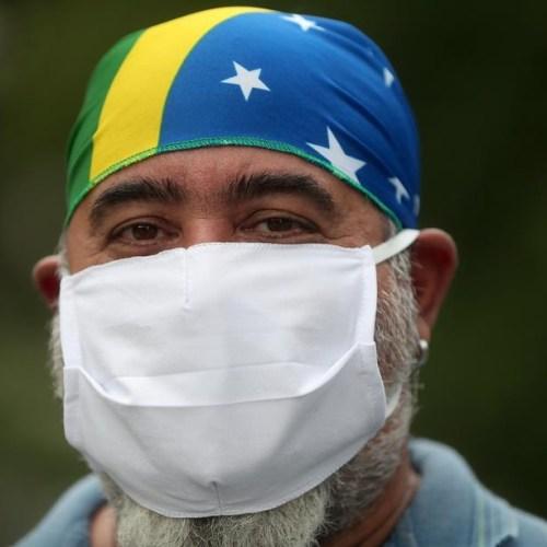 Brazil reports 64,134 new coronavirus cases, 1,593 deaths