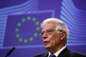 EU foreign policy chief 'will do whatever he can' for Belarus sanctions