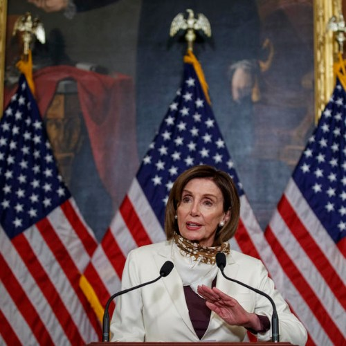 U.S. House Speaker Nancy Pelosi endorses Joe Biden for president