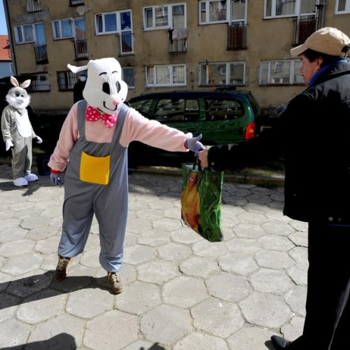 Photo Story: Easter solidarity in Koszalin, Poland