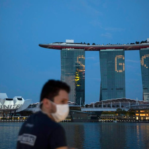 Singapore reports huge surge in cases