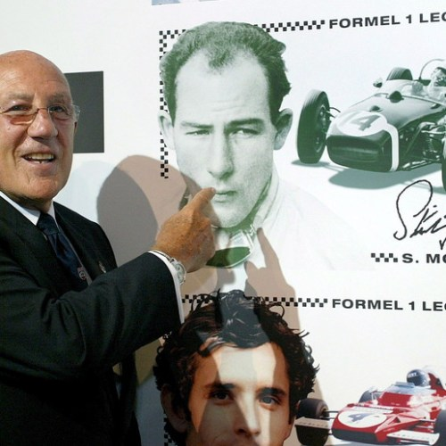 Motor racing legend Stirling Moss dies aged 90