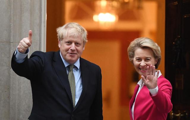 Ursula Von der Leyen 'convinced' EU and UK can still reach trade deal