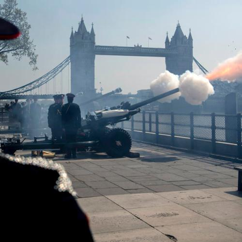 Queen orders cancellation of her 94th birthday gun salute