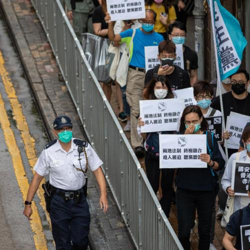 Activists call for Hong Kong to rise up against new security laws