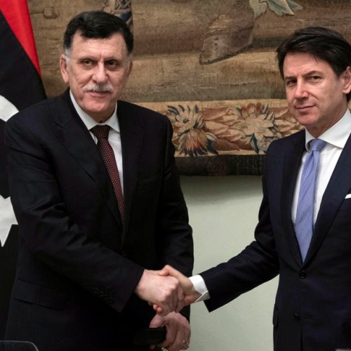 Migration, Military developments and Coronavirus discussed between Al-Sarraj and Conte