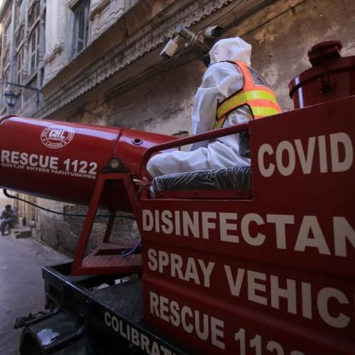 Pakistan coronavirus cases surge past 25,000