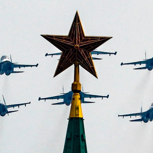 Photo Story: General rehearsal of the Victory Day air parade in Moscow