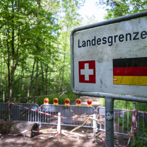 Swiss to re-open borders with neighbouring countries but not Italy