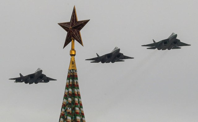Victory Day celebration in Moscow