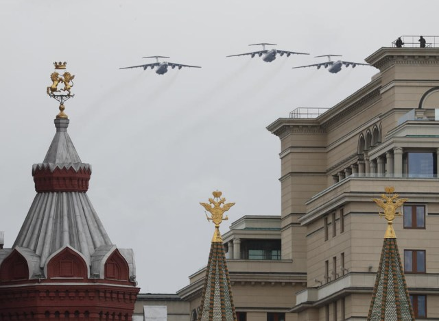Russia marks the 75th anniversary of the victory over Nazi Germany in World War II.