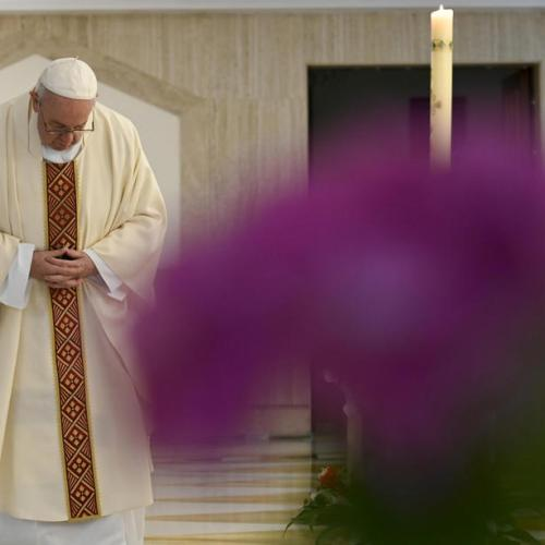 Pope says Thursday will be day of prayer for all religions for end to pandemic