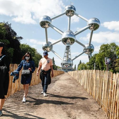 Photo Story: Brussels landmark, the Atomium, on verge of bankruptcy
