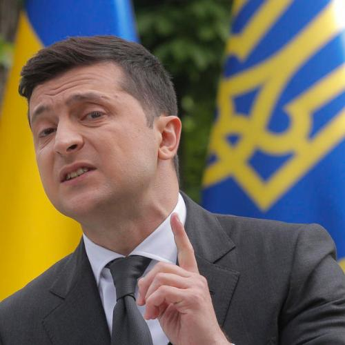 Ukrainian president says the country's lockdown may be eased earlier than planned