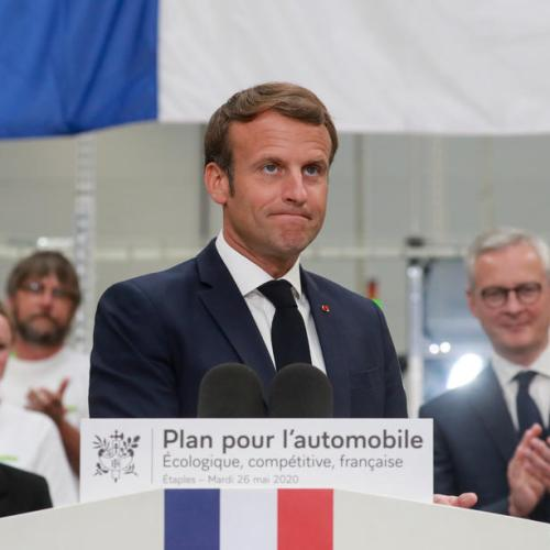Macron announces plan to rescue French auto industry