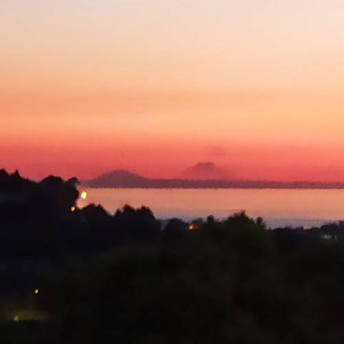 Mt Etna viewing from Malta