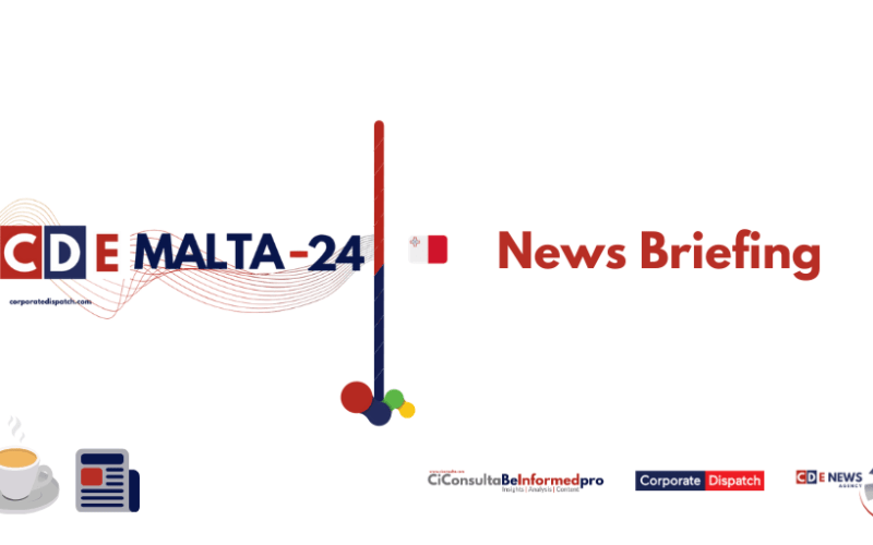 Malta-24 – News Briefing – Wednesday 8th July 2020