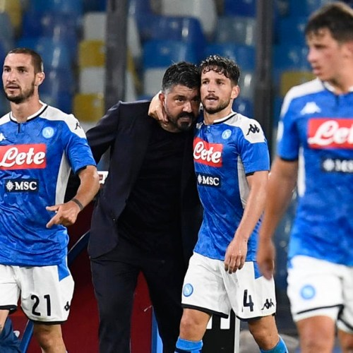 Napoli qualifies for Coppa Italia final