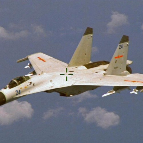 Chinese fighter jets buzz Taiwan again, stoking tensions