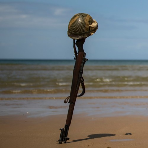 Few to mourn the D-Day dead in Normandy