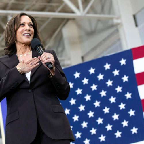 Kamala Harris emerges as top contender for Biden's V.P. slot