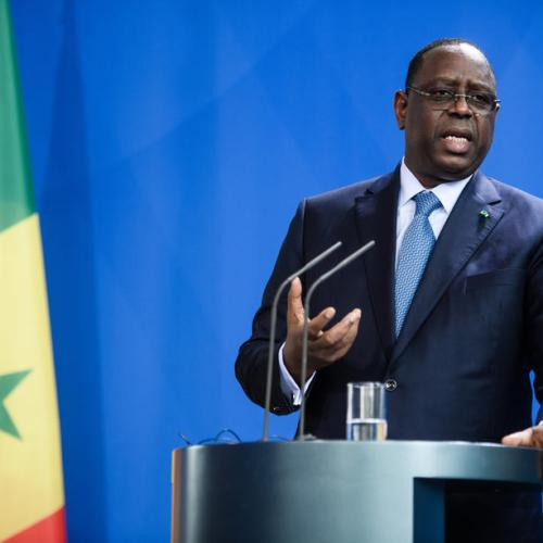 Senegal president self-quarantines after contact with COVID-19 case