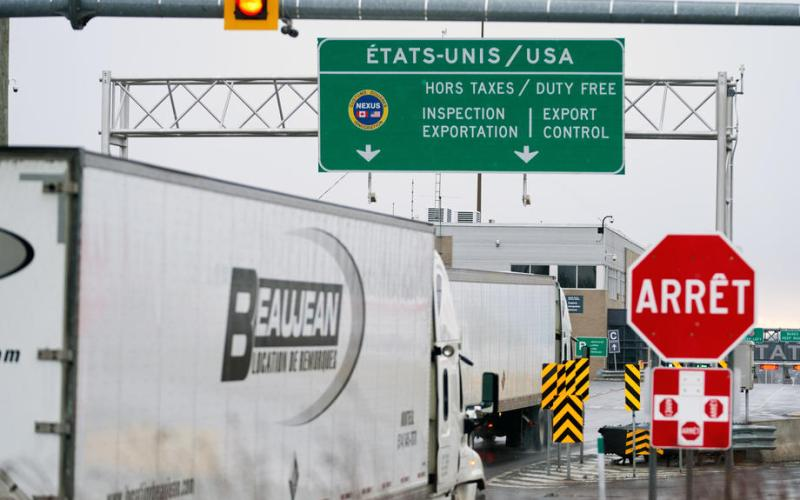 Canada PM Trudeau indicates U.S. border restrictions to last a long time