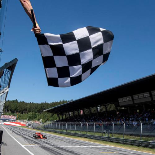 Formula One fans can buy squares on chequered flag for charity