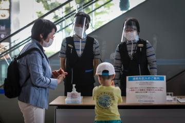 Japan to open large vaccination centers in Tokyo, Osaka -media