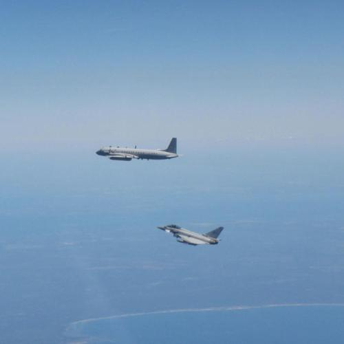 Photo Story: RAF Typhoons scrambled in Lithuania to intercept Russian aircraft