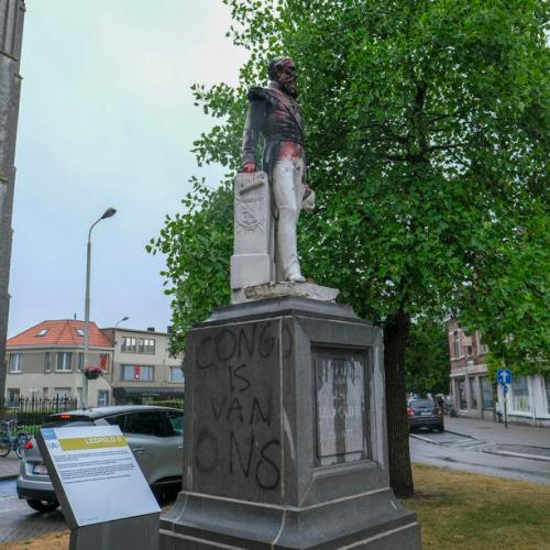 King Leopold II statue removed in Antwerp after anti-racism protests