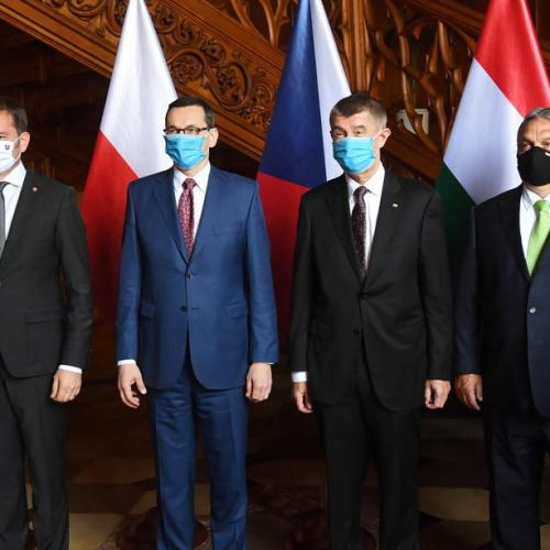 "Visegrad Four countries call for a ""fair"" allocation of EU's €750 billion Coronavirus recovery fund"