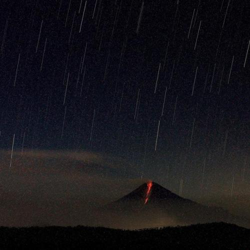 Photo Story: Sangay volcano in activity in Ecuador